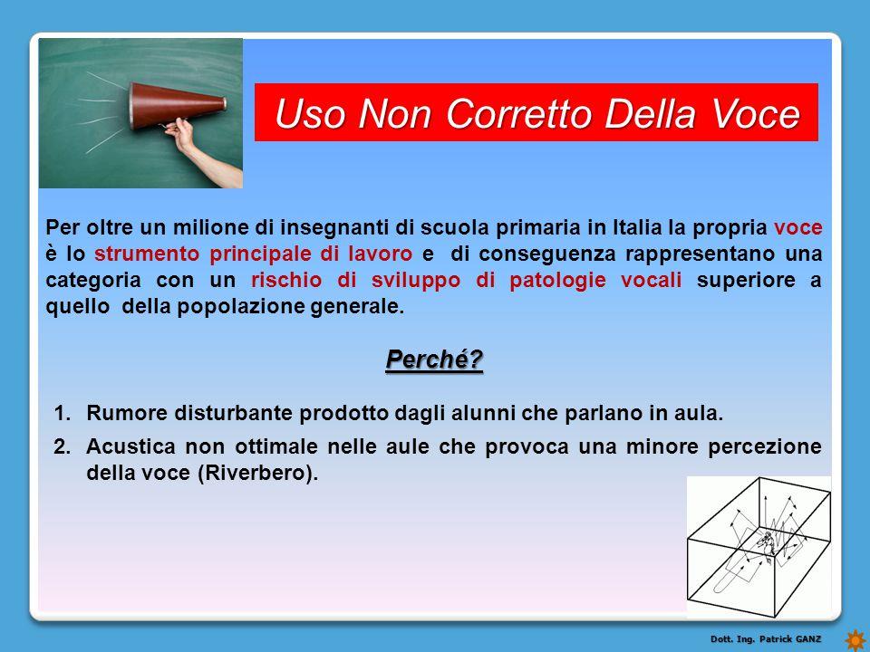 Uso Non Corretto Della Voce Per oltre un milione di insegnanti di scuola primaria in Italia la propria voce è lo strumento principale di lavoro e di c