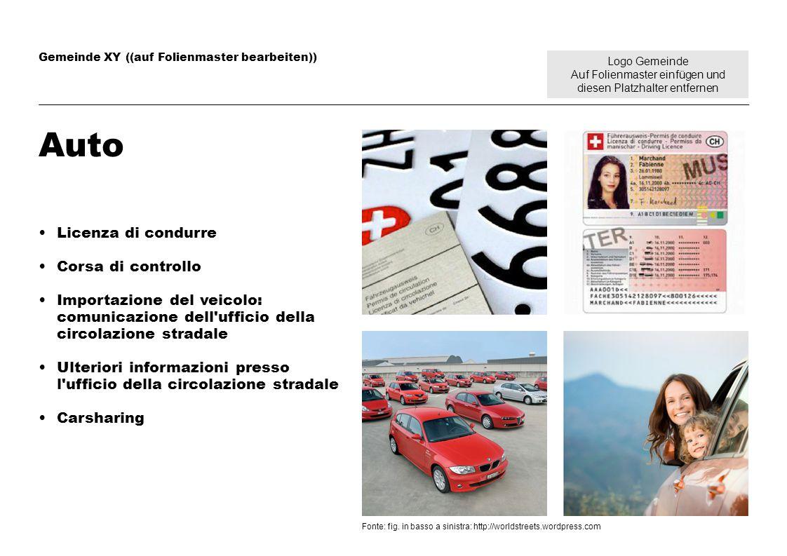 Logo Gemeinde Auf Folienmaster einfügen und diesen Platzhalter entfernen Gemeinde XY ((auf Folienmaster bearbeiten)) Auto Licenza di condurre Corsa di