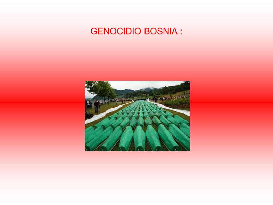 GENOCIDIO BOSNIA :