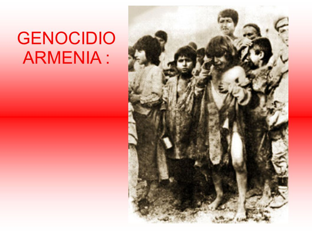 GENOCIDIO ARMENIA :
