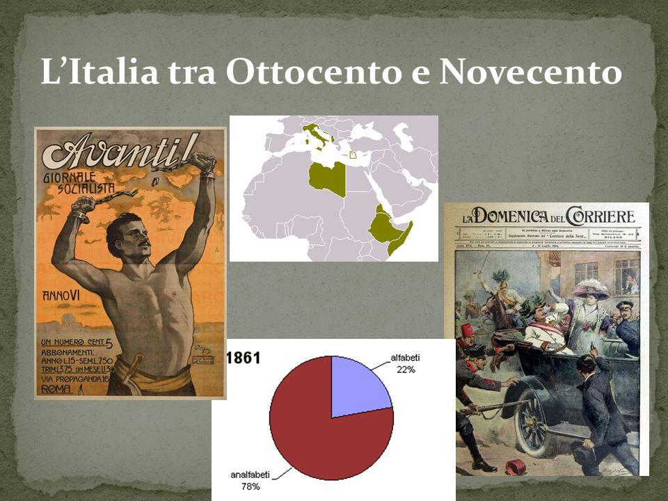 L'Italia tra Ottocento e Novecento