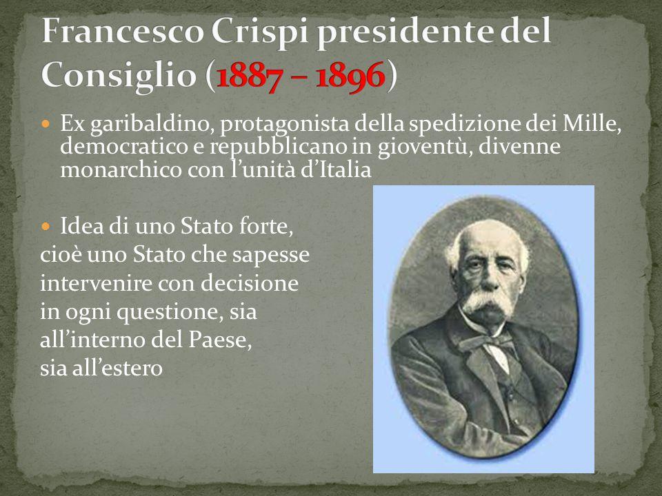 Ex garibaldino, protagonista della spedizione dei Mille, democratico e repubblicano in gioventù, divenne monarchico con l'unità d'Italia Idea di uno S