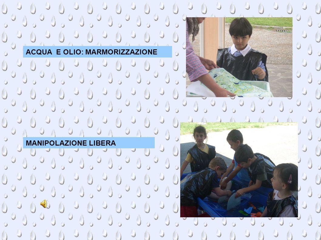 ACQUA E OLIO: MARMORIZZAZIONE MANIPOLAZIONE LIBERA