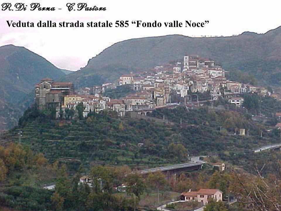 """Veduta dalla strada statale 585 """"Fondo valle Noce"""""""