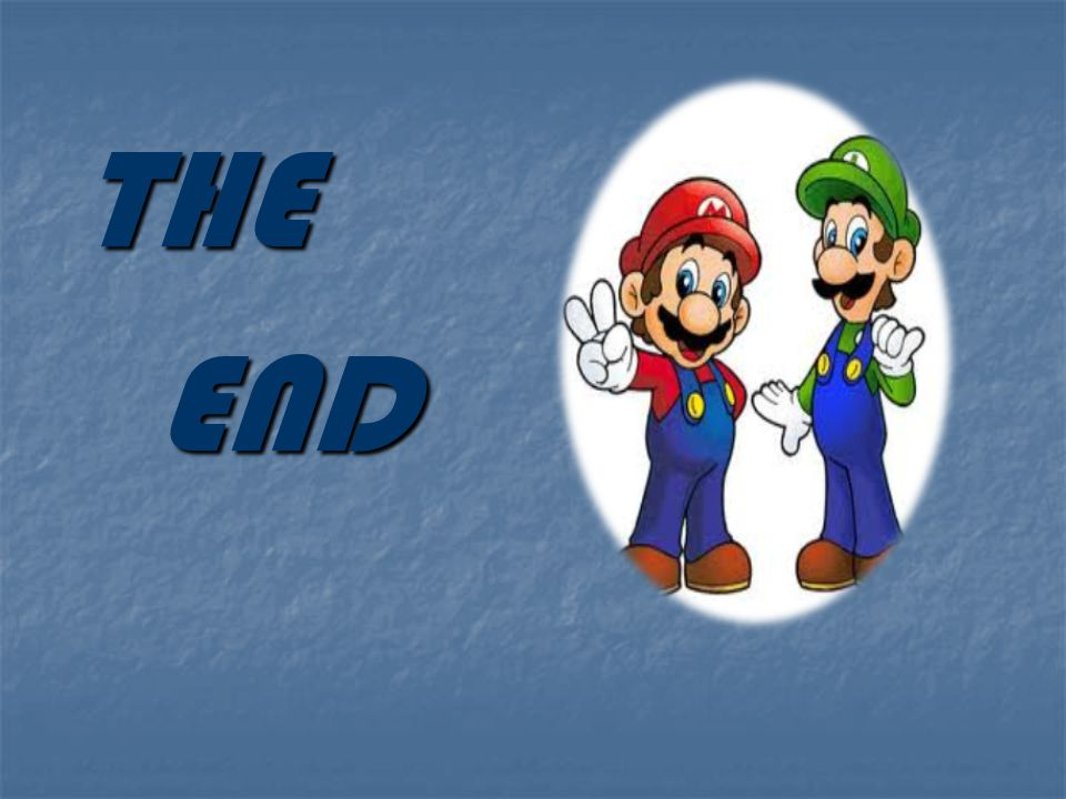 THE THE END END