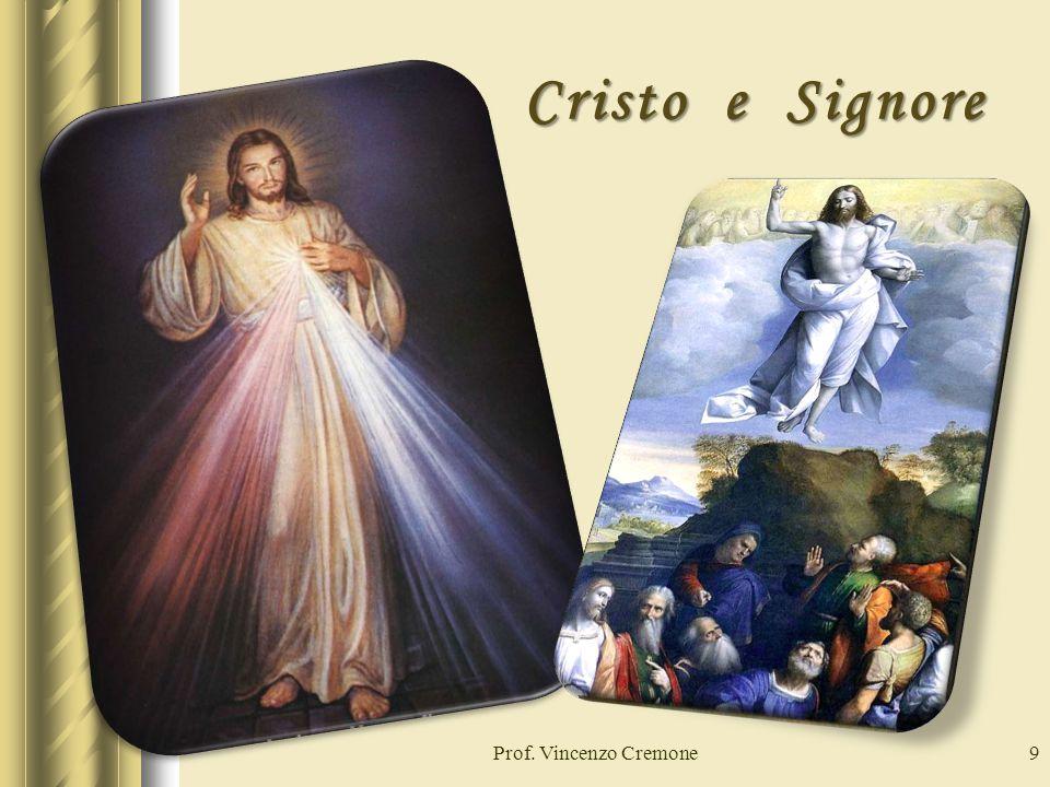 9 Cristo e Signore