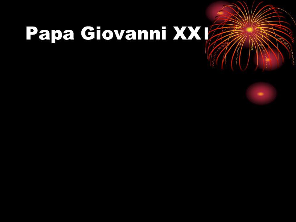 Papa Giovanni XX 1