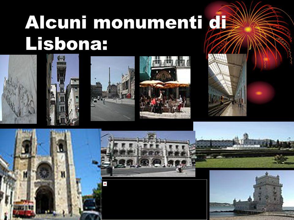 Alcuni monumenti di Lisbona: