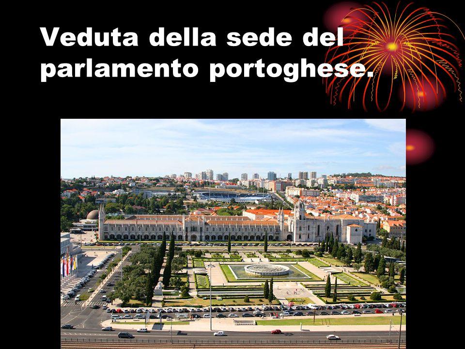 Veduta della sede del parlamento portoghese.