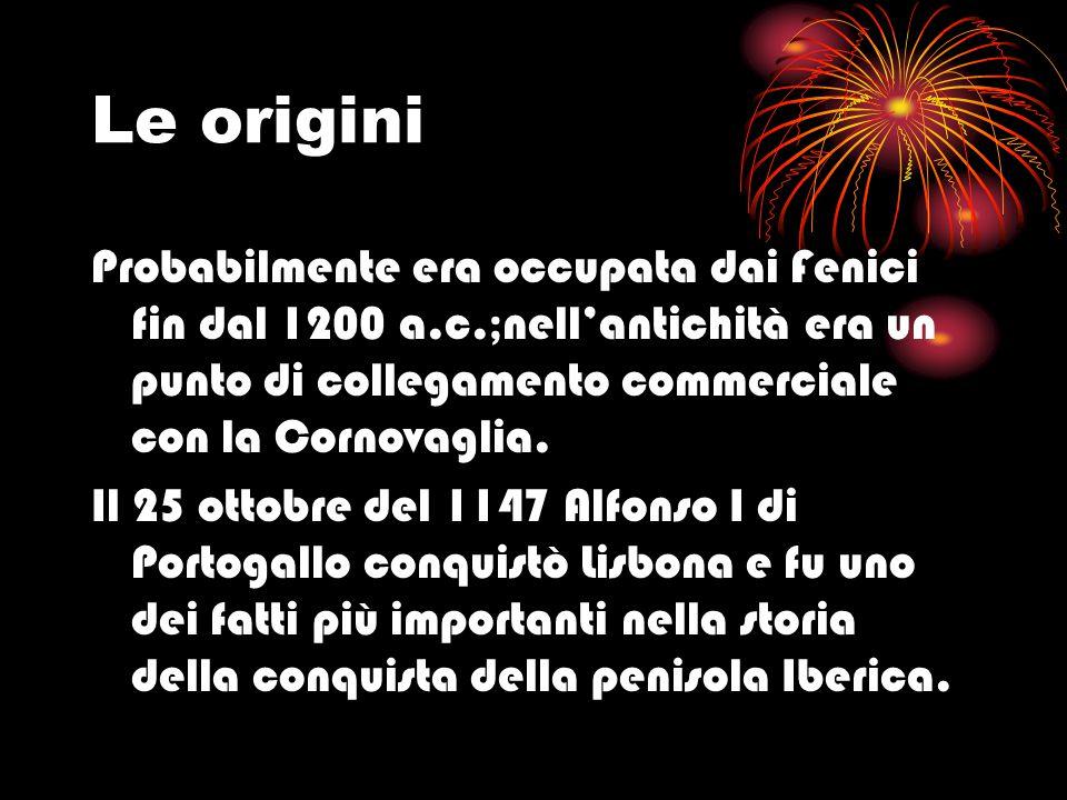 Le origini Probabilmente era occupata dai Fenici fin dal 1200 a.c.