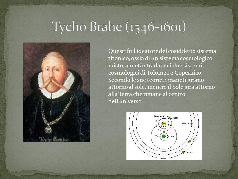 Questi fu l'ideatore del cosiddetto sistema titonico, ossia di un sistema cosmologico misto, a metà strada tra i due sistemi cosmologici di Tolomeo e
