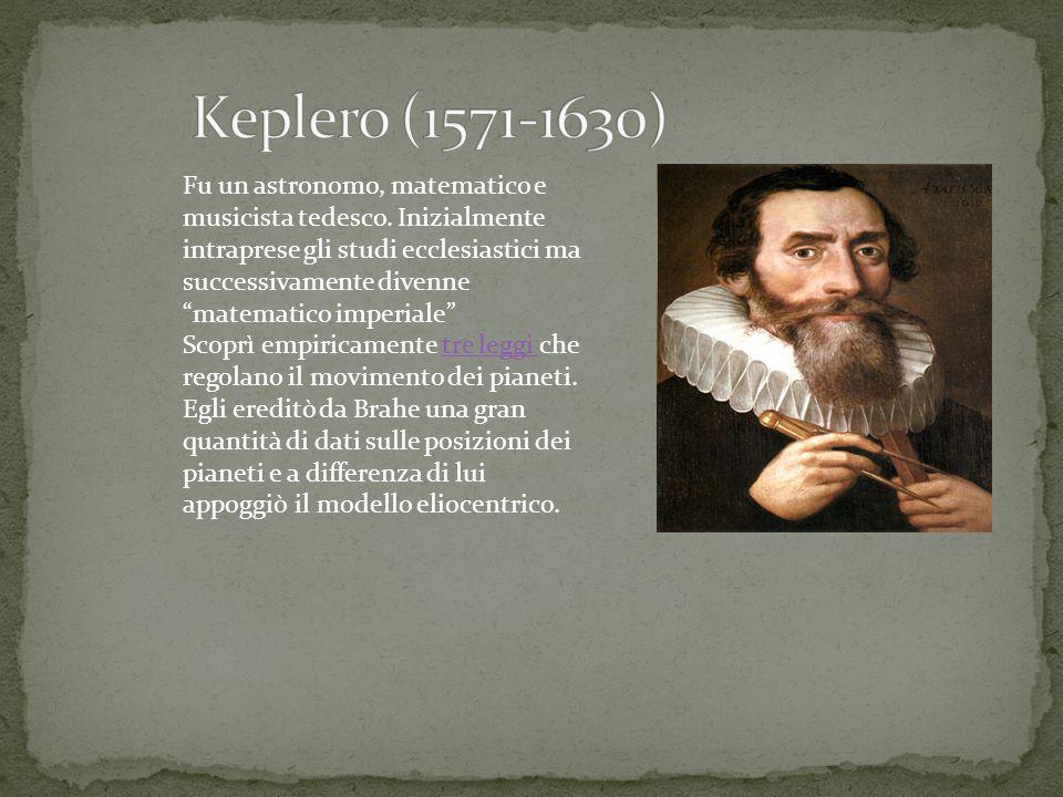 """Fu un astronomo, matematico e musicista tedesco. Inizialmente intraprese gli studi ecclesiastici ma successivamente divenne """"matematico imperiale"""" Sco"""