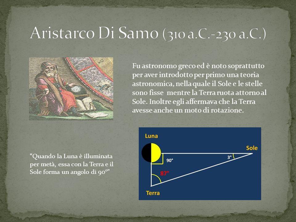 Fu astronomo greco ed è noto soprattutto per aver introdotto per primo una teoria astronomica, nella quale il Sole e le stelle sono fisse mentre la Te