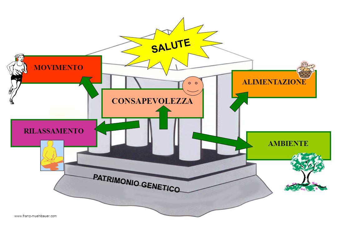 ALIMENTAZIONE MOVIMENTO CONSAPEVOLEZZA AMBIENTE RILASSAMENTO SALUTE PATRIMONIO GENETICO www.franz-muehlbauer.com