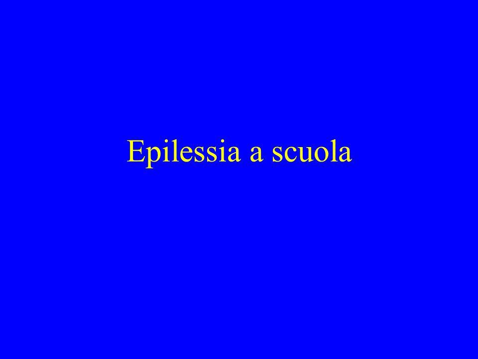 Epilessia a scuola