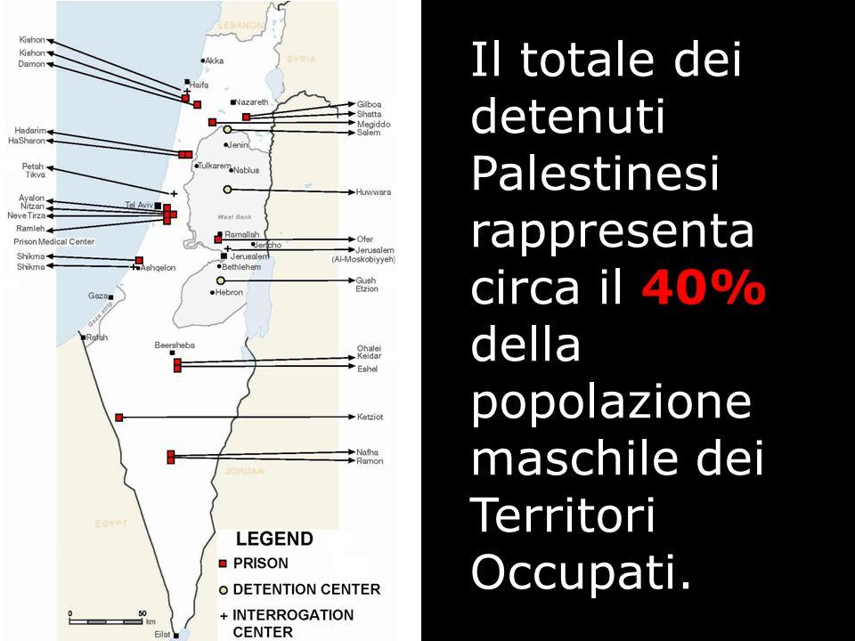 I Palestinesi sono processati da Corti militari Israeliane che si trovano all'interno di centri militari nei territori Palestinesi occupati.