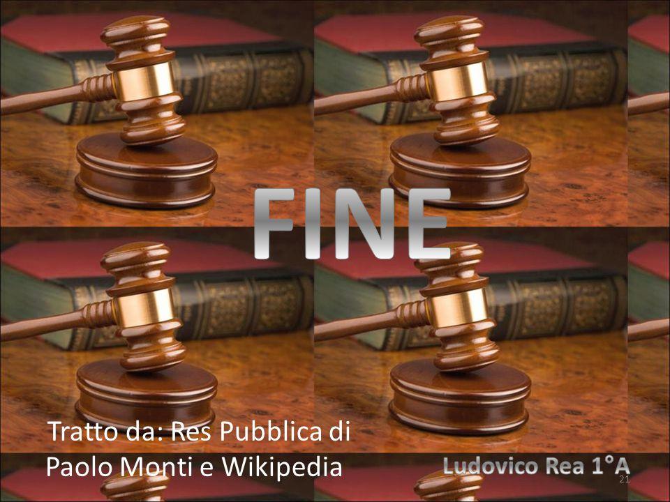 Tratto da: Res Pubblica di Paolo Monti e Wikipedia 21