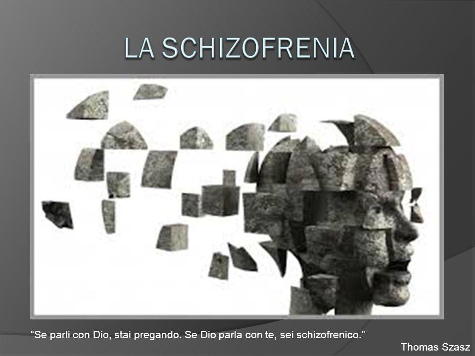 """Se parli con Dio, stai pregando. Se Dio parla con te, sei schizofrenico."" Thomas Szasz"