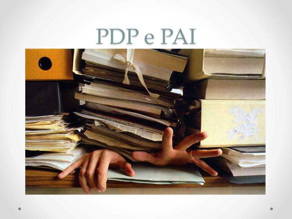 PDP e PAI