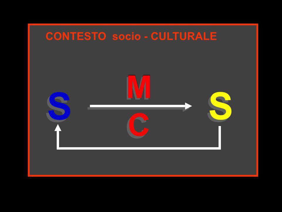 CONTESTO socio - CULTURALE S S M S S M C C M M