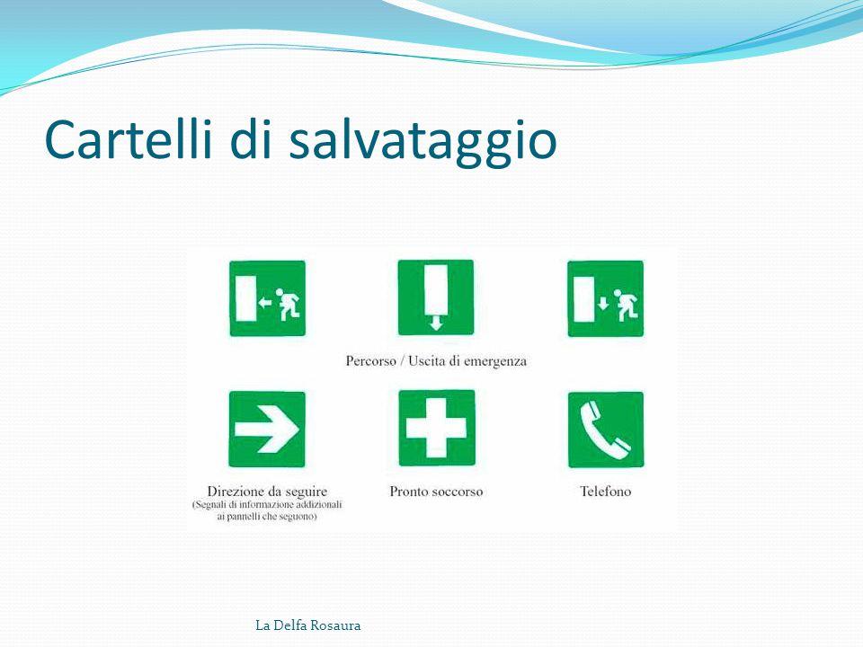 Cartelli di prescrizione La Delfa Rosaura