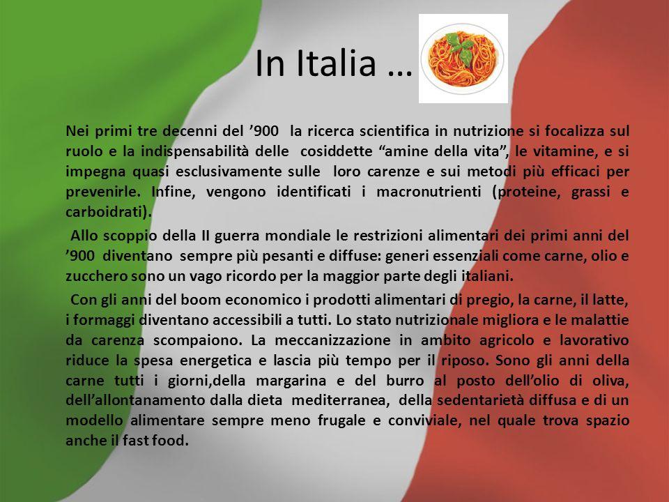 L' alimentazione odierna Una production by Alessandro Milite,Alessandro Pio Gaudino e Francesco D' Alessandro