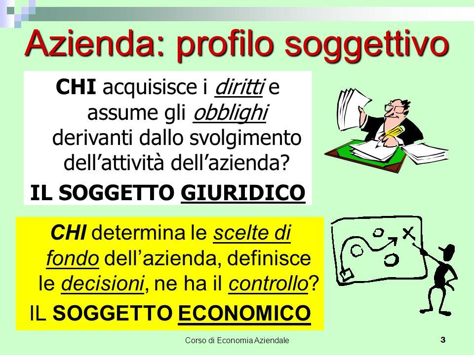 Il soggetto economico nelle società di capitali Nelle S.r.l.