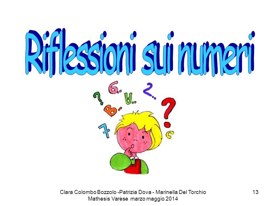 Clara Colombo Bozzolo -Patrizia Dova - Marinella Del Torchio Mathesis Varese marzo maggio 2014 13