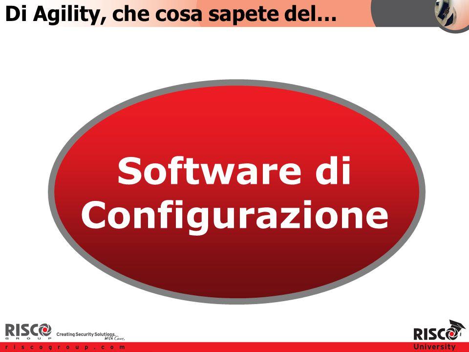 TOPIC 5 Software di Configurazione Di Agility, che cosa sapete del…