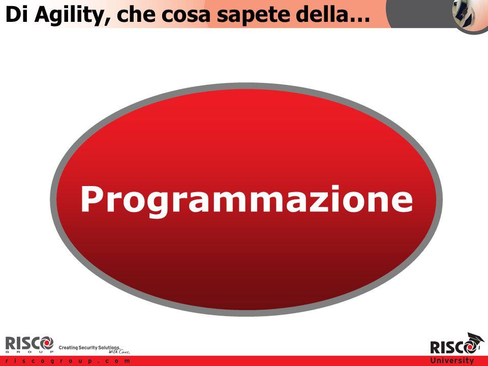 TOPIC 2 Programmazione Di Agility, che cosa sapete della…