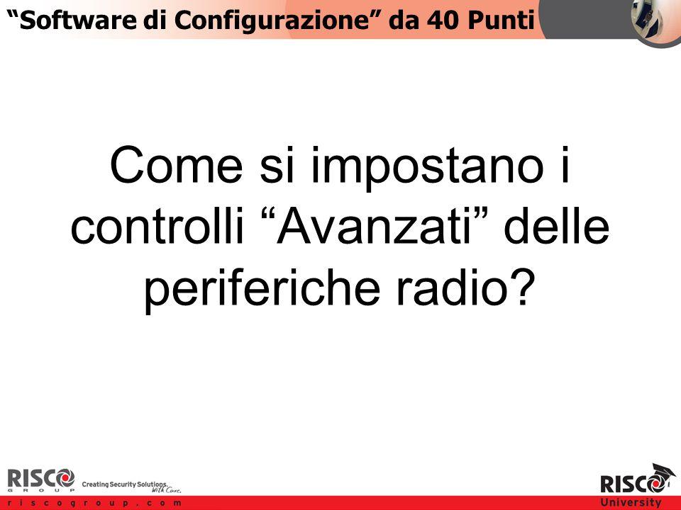 5:405:40 Come si impostano i controlli Avanzati delle periferiche radio.
