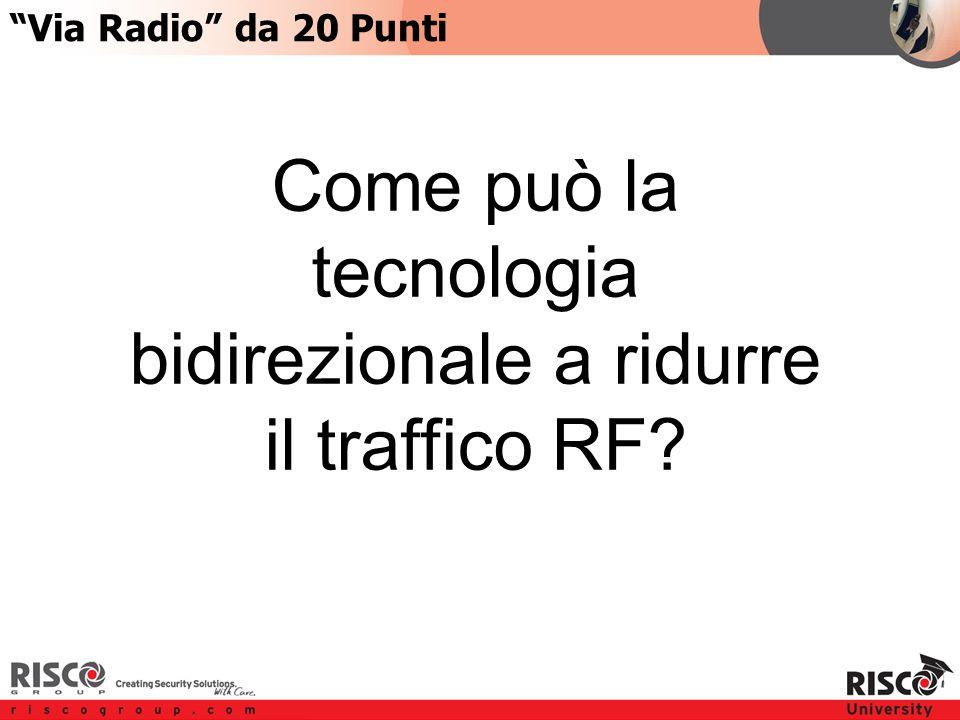 6:206:20 Come può la tecnologia bidirezionale a ridurre il traffico RF Via Radio da 20 Punti