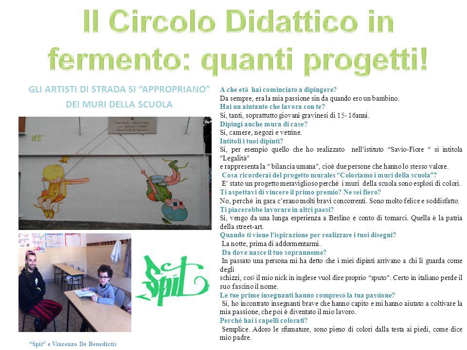 Al circolo didattico Savio-Fiore è avvenuto un simpatico incontro tra italiani (gravinesi, per la precisione) e stranieri provenienti da altri circoli didattici sparsi in Europa.