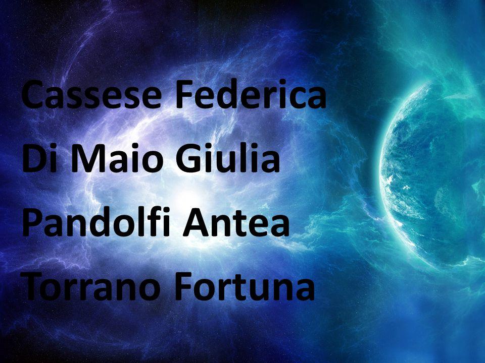 Cassese Federica Di Maio Giulia Pandolfi Antea Torrano Fortuna