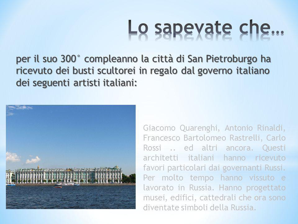 Il Cremlino è stato costruito da architetti italiani che si sono ispirati al Castello Sforzesco.