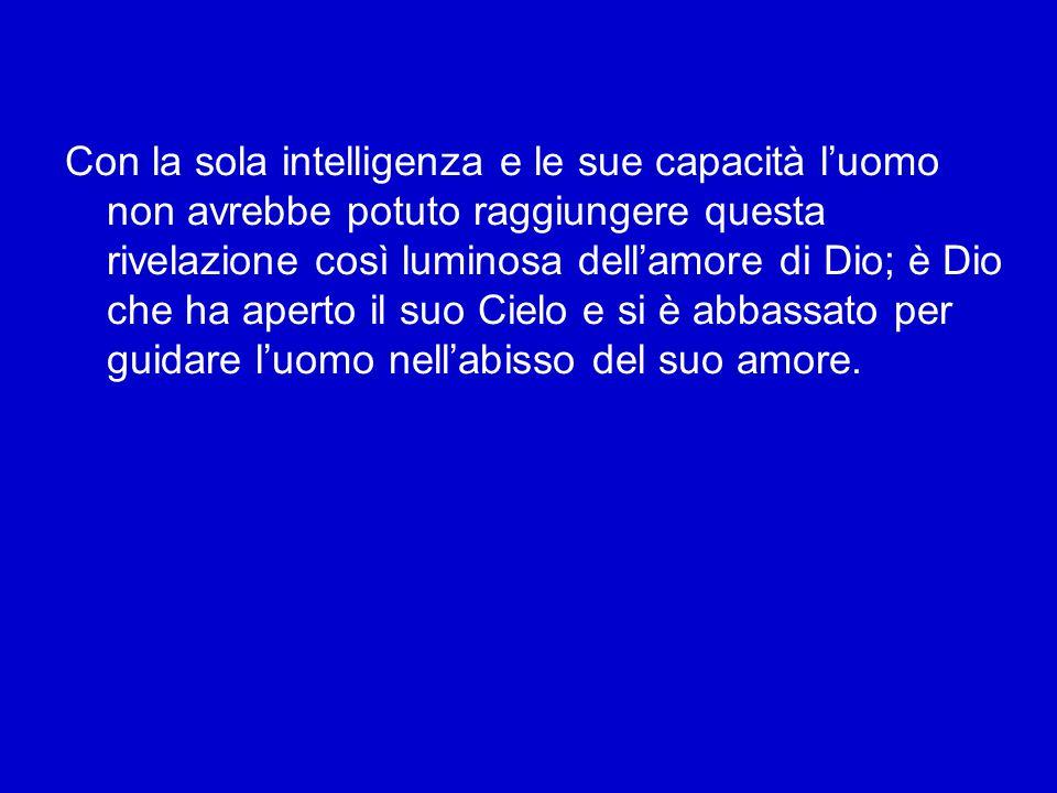 Il Concilio continua: «Il Dio invisibile nel suo grande amore parla agli uomini come ad amici (cfr Es 33,11; Gv 15,14-15) e vive tra essi (cfr Bar3,38) per invitarli e ammetterli alla comunione con Sé» (ibidem).