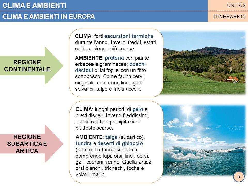 CLIMA E AMBIENTI CLIMA E AMBIENTI IN ITALIA UNITÀ 2 ITINERARIO 3 L'Italia conta 6 diverse aree climatico-ambientali ADRIATICA ALPINA CALABRO-INSULARE APPENNINICA PADANA LIGURE-TIRRENICA 6