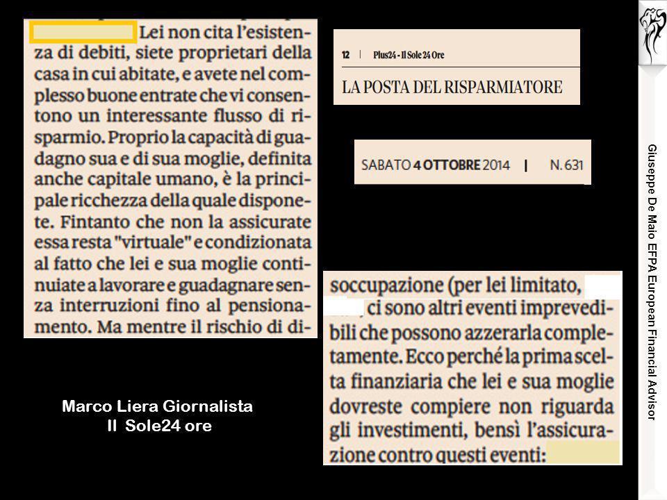 Marco Liera Giornalista Il Sole24 ore