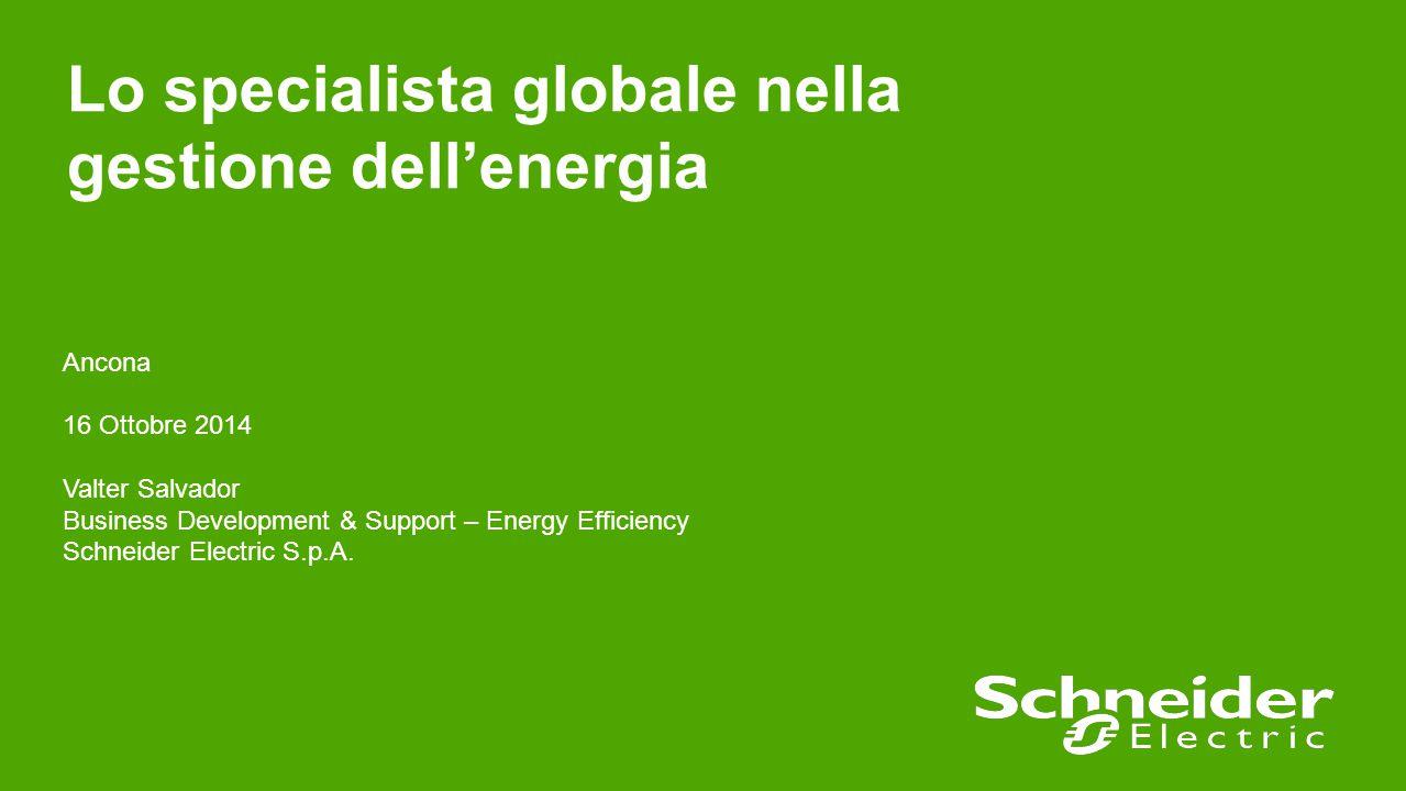 22 Confidential Property of Schneider Electric Cerca l'EcoXpert a te più vicino Maggiori informazioni su: www.schneider-electric.com