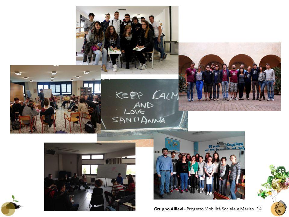 14 Gruppo Allievi - Progetto Mobilità Sociale e Merito