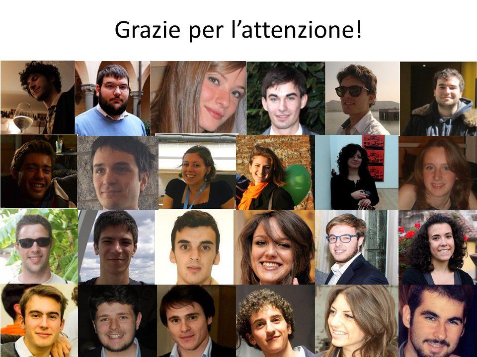 24 Gruppo Allievi - Progetto Mobilità Sociale e Merito Grazie per l'attenzione!