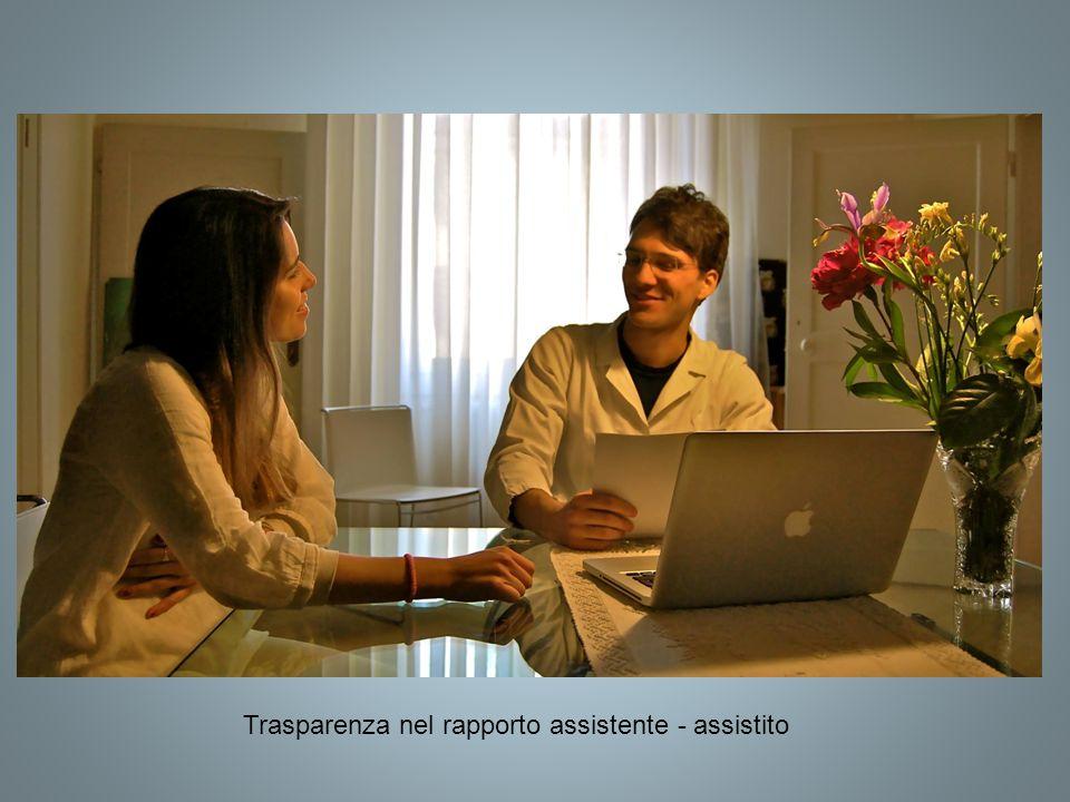 Trasparenza nel rapporto assistente - assistito