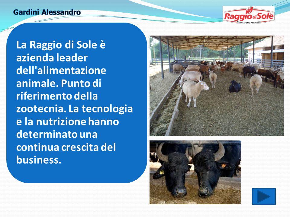 La Raggio di Sole è azienda leader dell alimentazione animale.