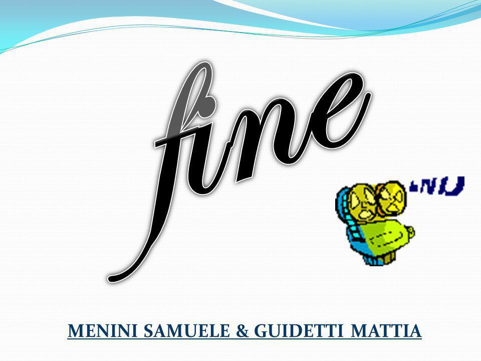 MENINI SAMUELE & GUIDETTI MATTIA