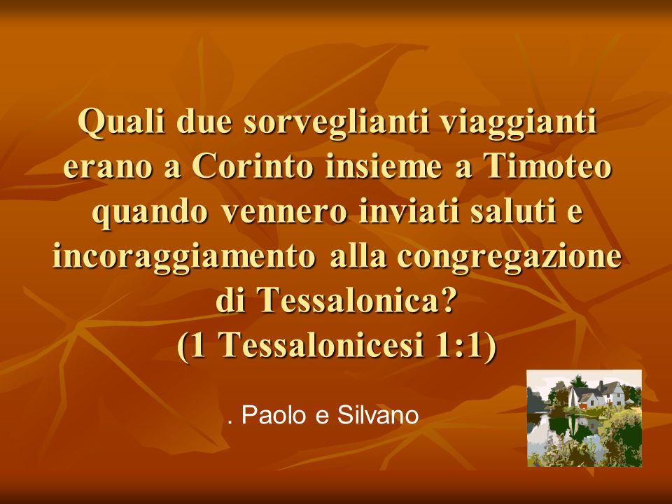 Quale titolo usò Festo riferendosi a Nerone? (Atti 25:21) Pensa! ! Augusto