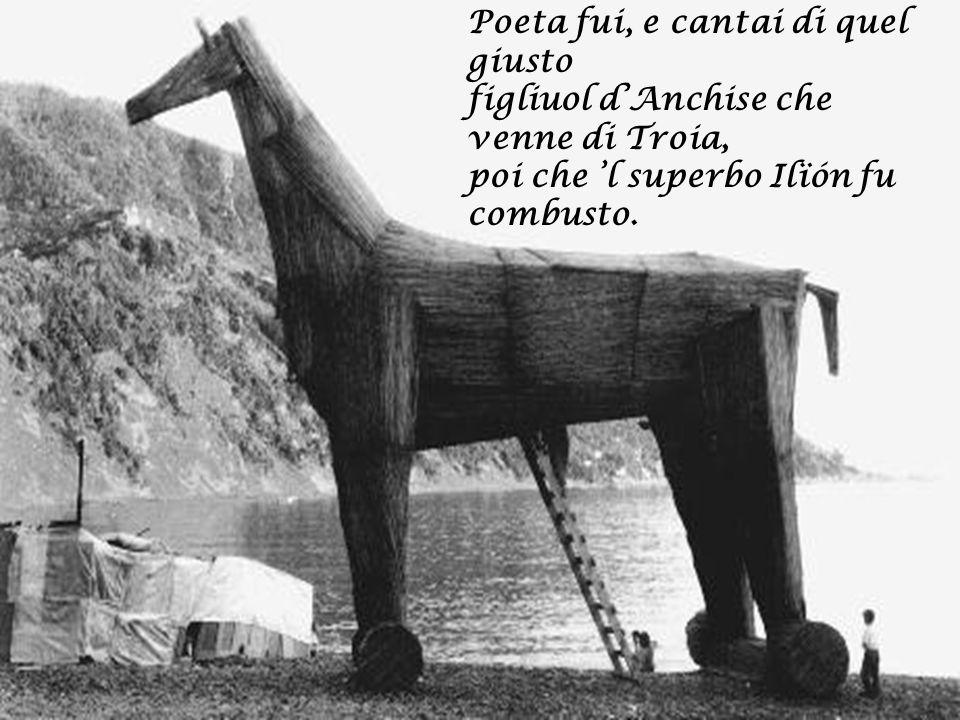 Nacqui sub Iulio, ancor che fosse tardi, e vissi a Roma sotto 'l buono Augusto nel tempo de li dèi falsi e bugiardi.