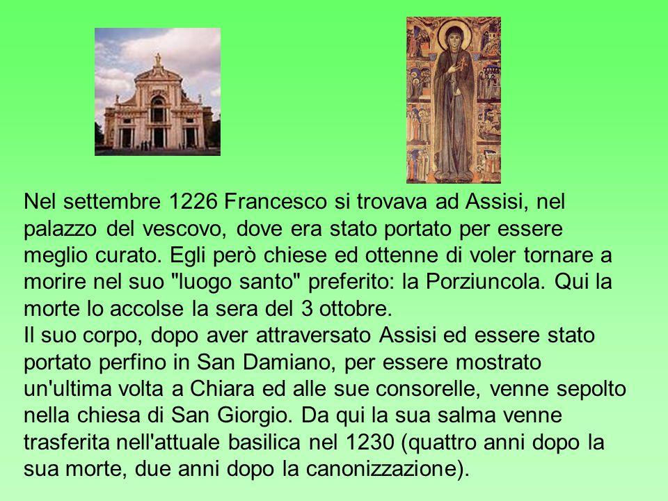 Fondò l'Ordine Mendicante, che da lui poi prese il nome come Ordine Minore, riconosciuto dal Papa Onorio III nel 1223. Dopo un vano tentativo di esten