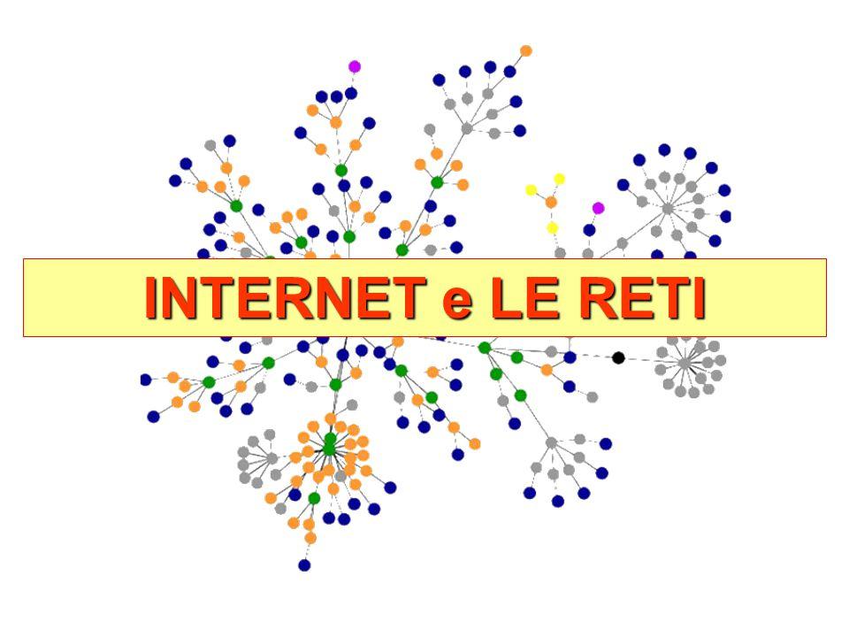 INTERNET e LE RETI