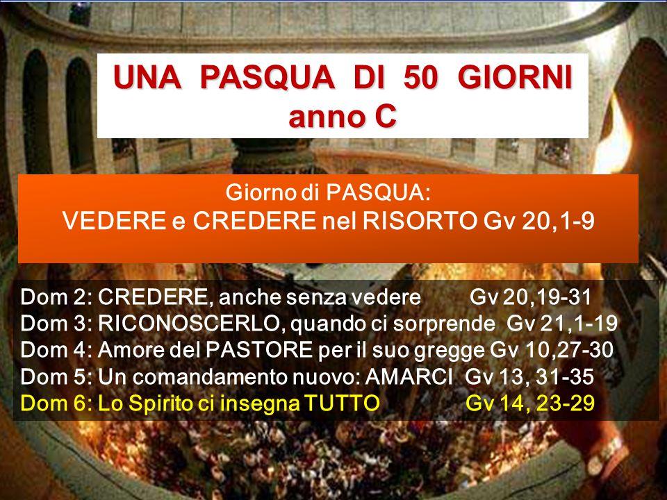 Celebrazione della Pasqua nel Santo Sepolcro Corale delle 10 vergini che attendono il ritorno di Gesù, nello Spirito. Bach