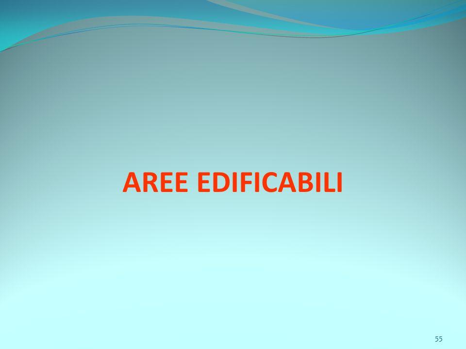 55 AREE EDIFICABILI